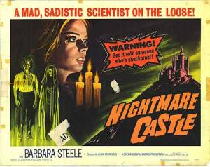 """Watch your spouse, and keep from visiting """"Nightmare Castle!"""""""