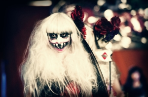Halloween 2014, Mihama Costume Contest, female ghoul ghost