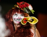Halloween 2014, Mihama Costume Contest, masked beauty