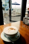 Okinawa Eats Nov 2014, Seaside Terrace, Chai-latte
