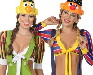 The Ultimate American Sluttiness:  sexifying Burt and Ernie.