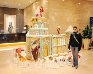 Christmas Celebrations were a Pleasant Surprise in Shanghai, Xian, and Beijing.
