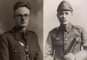 Lomax and Nagase in their WWII Days