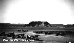 Hangar at Yontan during WWII