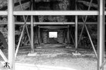 Okinawa Battlesites 2014, Yomitan Aircraft Shelter, roughed and reinforced interior WM