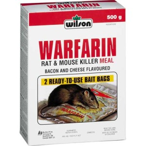 Coumadin, Warfarin, Rat Poison.  No difference!!