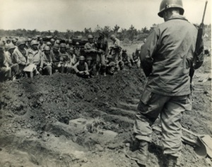 Funeral for Ernie Pyle