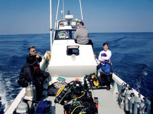 Fellow divers with fair winds and following seas