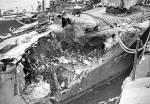 Damage to the USS Rodman