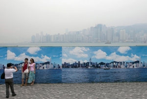 This is Hong Kong. But apparently it's also China's solution to their growing problem....