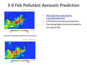 Slide from a Brief Warning of Increased Pollutant Aerosols