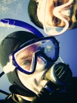 Our Selfie, Underwater!