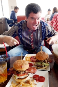 Okinawa Mar 2015, Captain Kangaroo, award-winning burgers