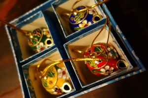 Cloisonné Tea Pot Gift Set