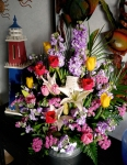 Okinawa White Day 2015, surprise flowers