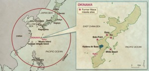 Nuclear Missile Strike Range from Okinawa, 1962
