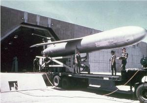 Mace-B Missile being Loaded in Silo