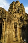 Cambodia 2015, Tonle Bati Ta Prohm, temple tower in stone WM