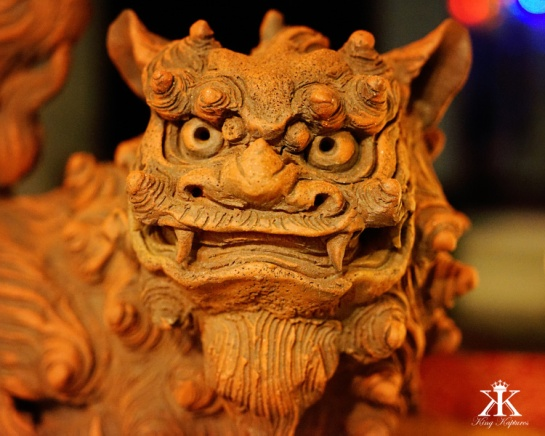 Okinawa Shisa 2015, Shisa purchase intimidation face 2 WM
