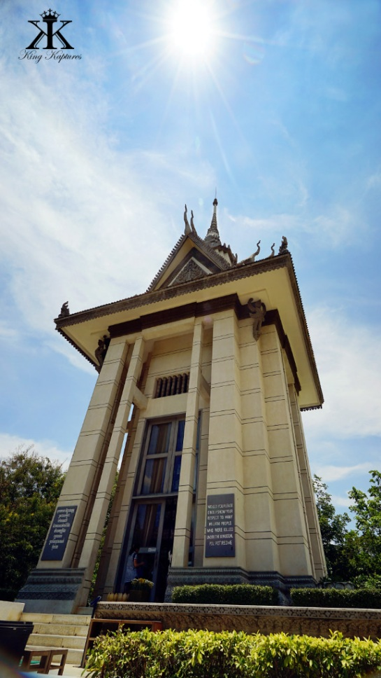 Camboida 2015, Choeung Ek Genocidal Center (Killing Fields), memorial stupa WM