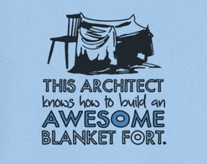 Jody always wanted to be an architect.  Seriously.  Ask her!