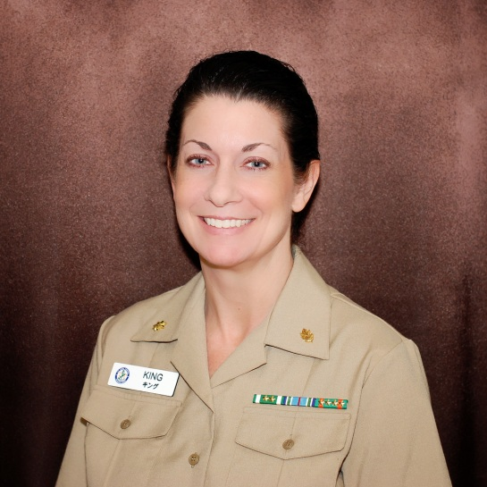 Not just the prettiest nurse in the Navy, now the prettiest COMMANDER in the Navy!