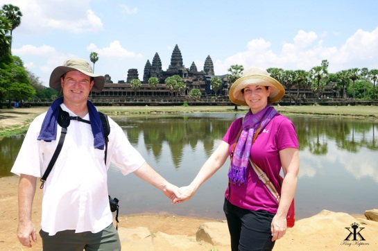 Cambodia 2015,  Angkor Wat, in love with Angkor Wat WM
