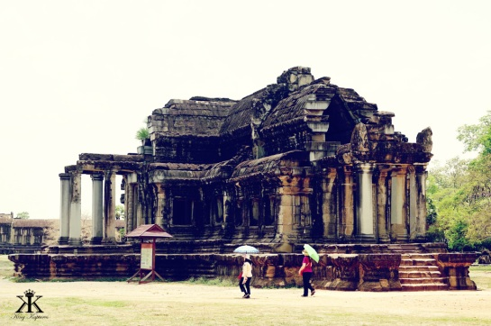 Library at Angkor Wat