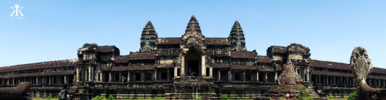 Cambodia 2015, Angkor Wat, rear entry of Angkor Wat WM