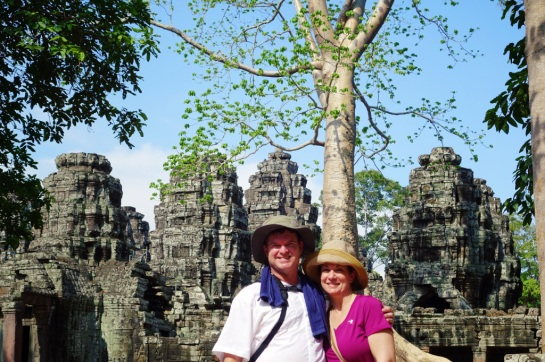Cambodia 2015, Banteay Kdei, one of our favorite temple visits and our last