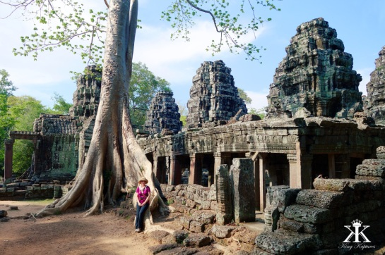 Like the More Famous Ta Prohm, only BETTER!