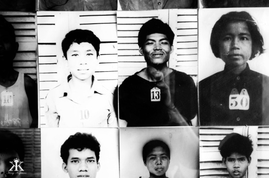 Cambodia 2015, Tuol Sleng Genocide Museum (S-21), victims lost to time WM