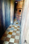 Wooded Cell with Colorful Tile