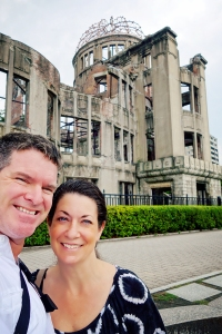 At the A-Dome, Hiroshima Peace Memorial Park