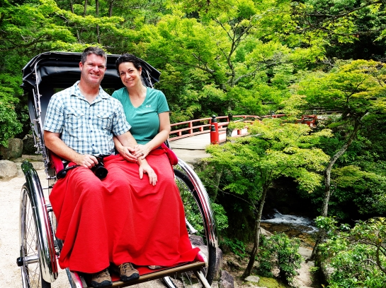 Richshaw Ride, Miyajima