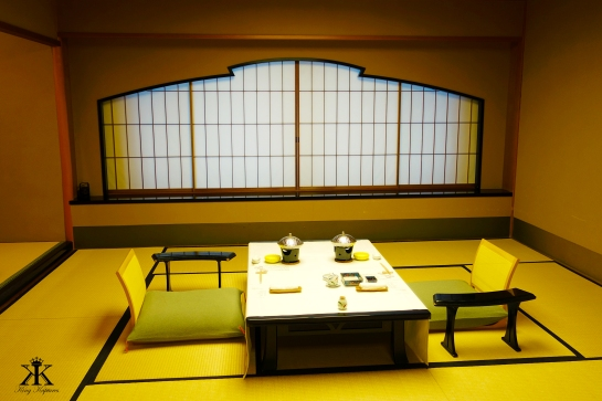 Dining and Sleep Area in our Ryokan