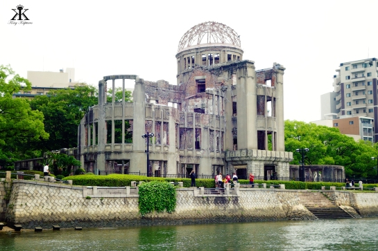 First View of the A-Bomb Dome