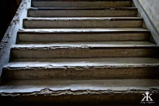Original Stairs leading to the School's Basement
