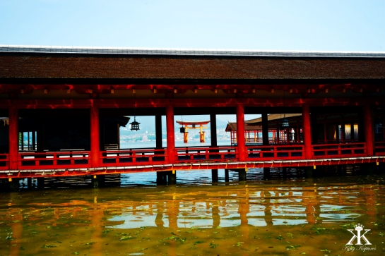 Miyajima 2015, Itsukushima Shrine, tidal boardwalks WM