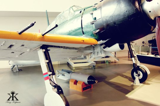 The Museum also has a beautiful Japanese Zero