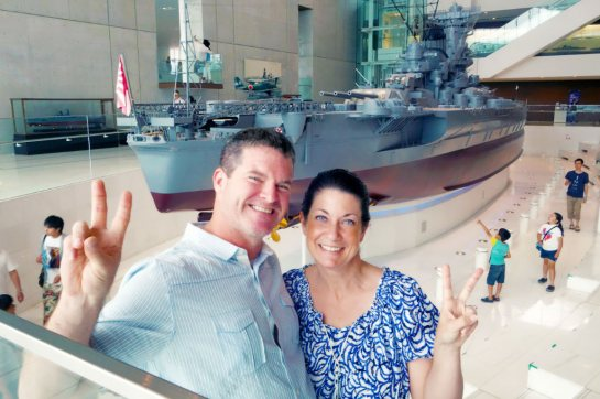 Kure 2015, Kure Maritime (Yamato) Museum, enjoying the Yamato museum together