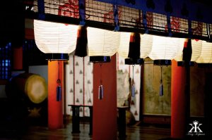 Miyajima 2015, Itsukushima Shrine, shinto shrine at night WM