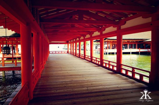 Miyajima 2015, Itsukushima Shrine, silent boardwalks WM
