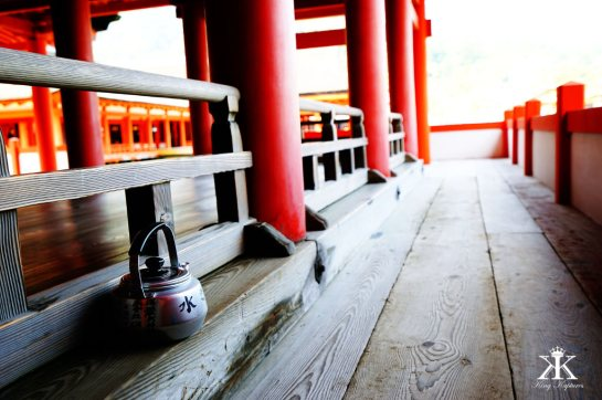 Miyajima 2015, Itsukushima Shrine, teapot WM