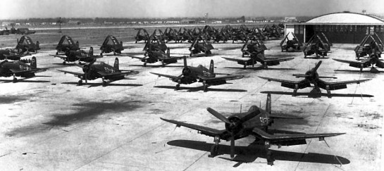 Corsairs at El Toro, 1949