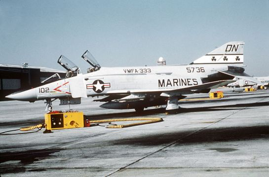 F-4 Phantom of VMFA-333, Cherry Point