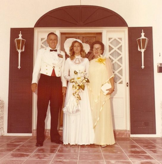 Bob and Gloria and Bride Robbie