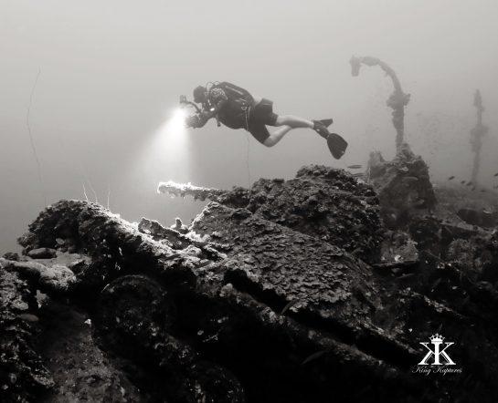 scuba-diving-truk-2016-san-francisco-maru-diver-over-a-japanese-type-95-ha-go-tank-bw-wm