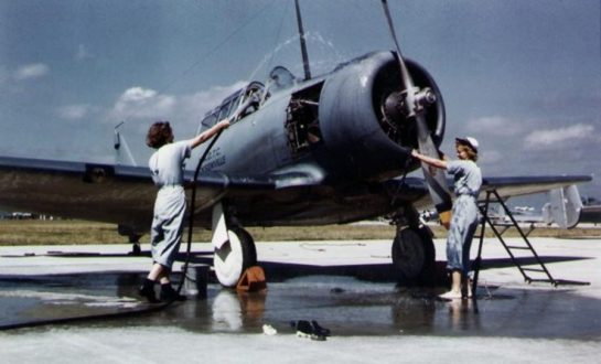 SNJ Trainer in the 1940s