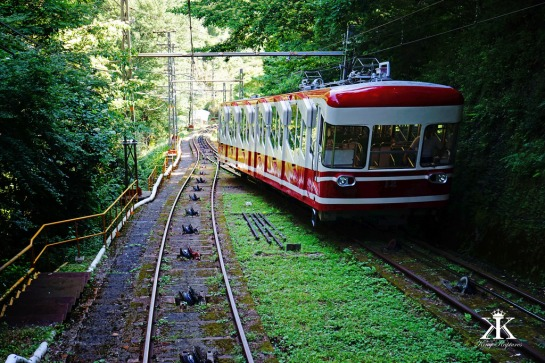 Funicular Connection Train Service to Koyasan's Bus Terminal